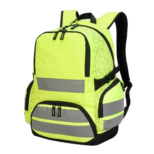 hi vis:backpack arrow