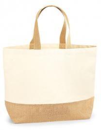 jute:canvas bag XL