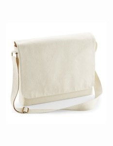 Fairtrade Cotton Canvas Maxi Messenger