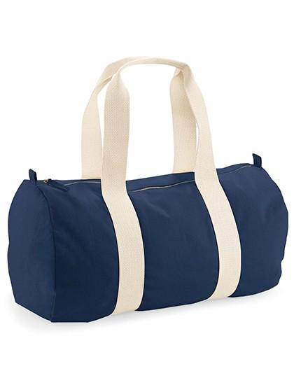 organic:earth aware barrel bag