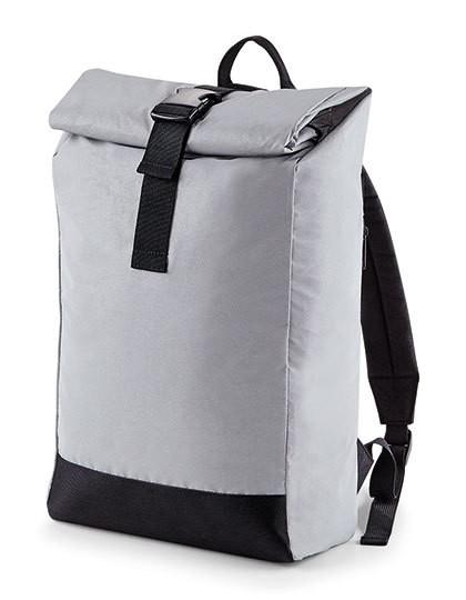 hi vis:reflektierender roll-top rucksack