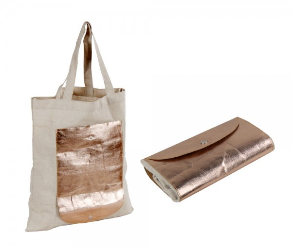 foldable: shopper jute